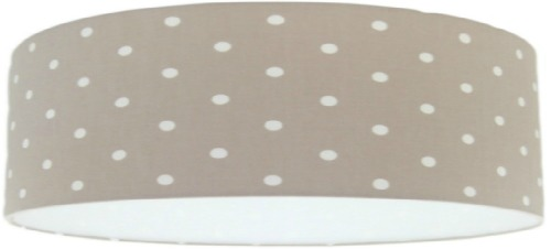 clarke and clarke beige dotty polka dot extra large lamp shade