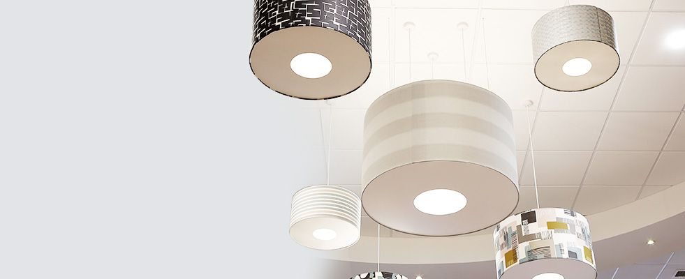 commercial and trade drum lamp shade manufacturer UK