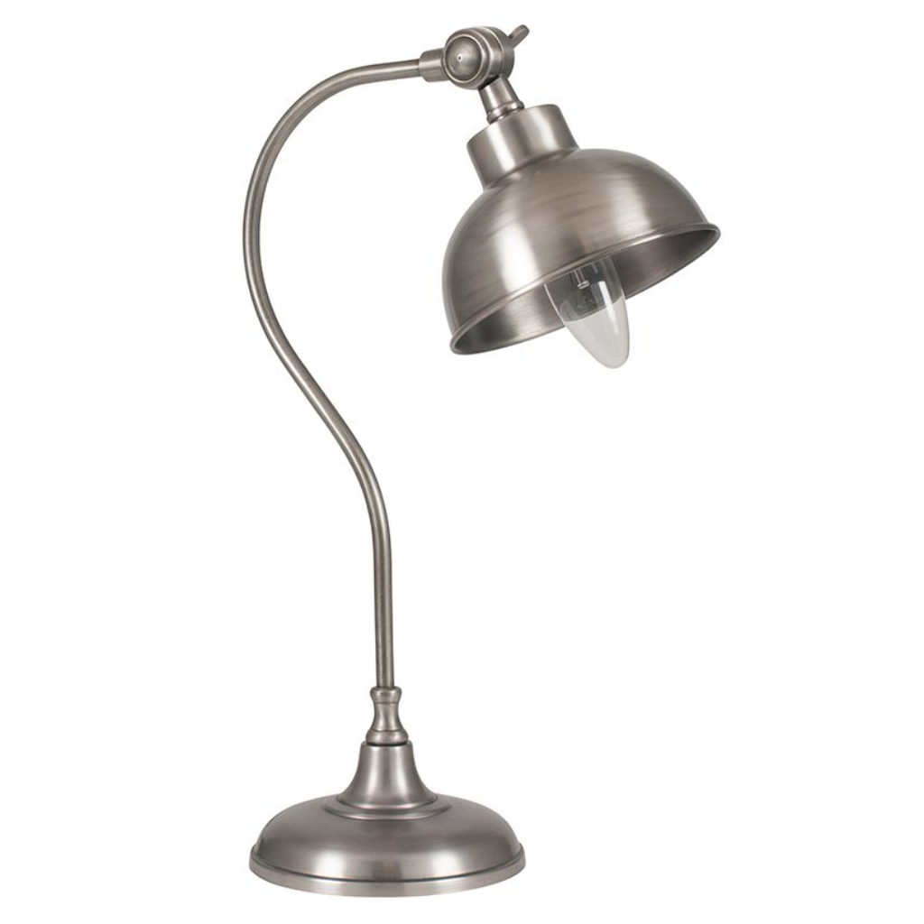 Antique silver task table lamp mozeypictures Images