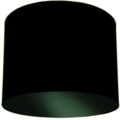 Black Lamp Shade with Black Lining