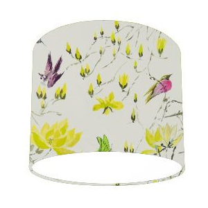 Designers Guild Madam Butterfly II Acacia Yellow Lamp Shade