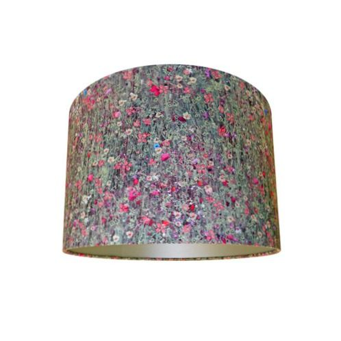 Drum lamp shade made with liberty floral mawston meadow pollen drum lamp shade made with liberty floral mawston meadow pollen fabric with champagne lining mozeypictures Gallery