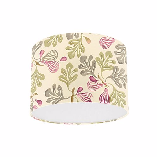 Emma Bridgewater Prints by Sanderson Rose Pink Moss Figs Drum Lamp Shade