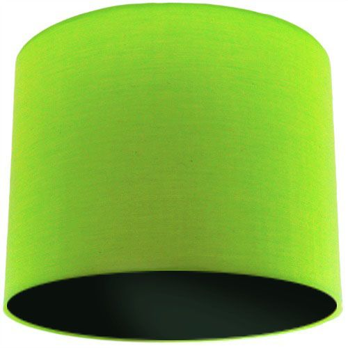 Lime Green Lamp Shade with Black Lining