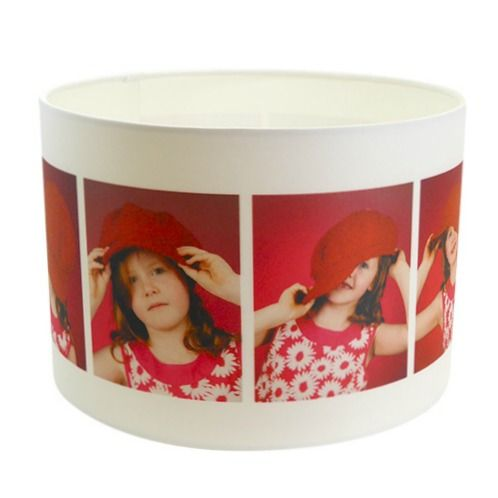 Personalised lamp shade made to order using your own image personalised lamp shade made to order using your own image diameter 30cm x height 21cm aloadofball Image collections