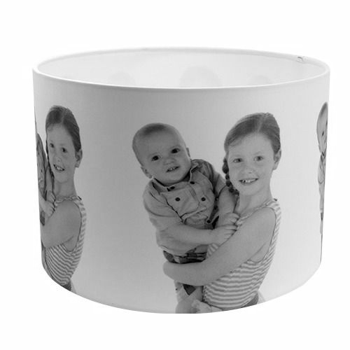Personalised lamp shade made to order using your own image personalised lamp shade made to order using your own image diameter 40cm x height 25cm aloadofball Image collections