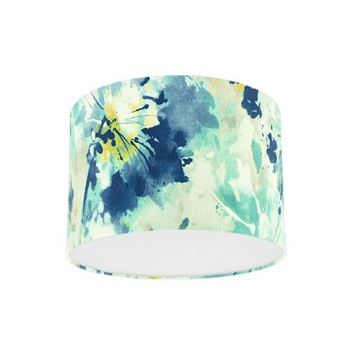 Sanderson Simi Aegean Fabric Drum Lamp Shade