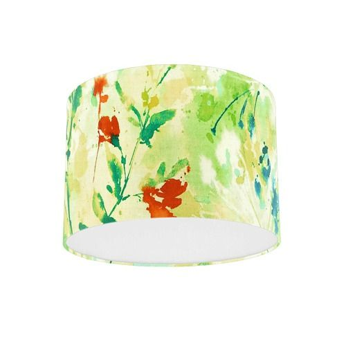 Sanderson Simi Spring Fabric Drum Lamp Shade