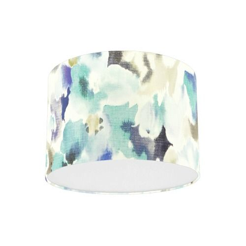 Sanderson Varese Cobalt Fabric Drum Lamp Shade