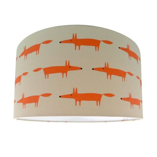 Scion Mr Fox Ginger Lamp Shade